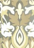 Reflections Glow Mercury Wallpaper 1907/934 By Prestigious Textiles